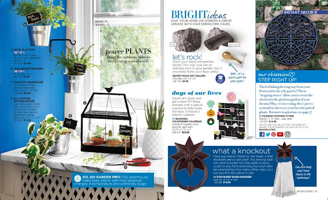 Avon Living Gardening Decor >>>