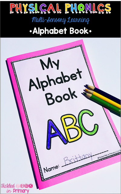 Multi-Sensory Learning - Alphabet Book
