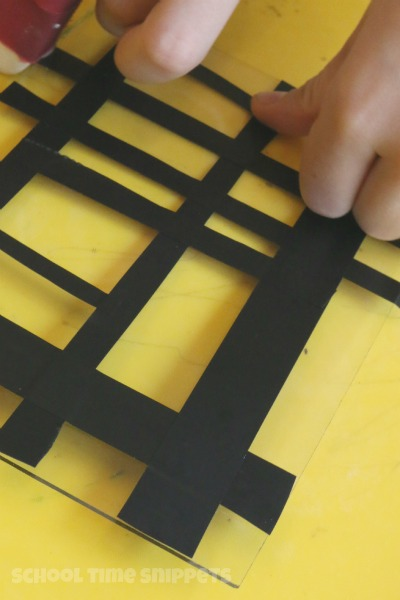 Electrical Tape Black Lines