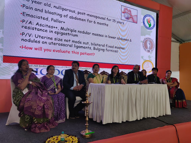 Dr. Manoranjan Mahapatra Attended the National conference of Gynaecologist at Bangalore
