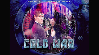 Doctor Who Cold War Ice Warriors Clara Oswald Matt Smith Jenna Louise Coleman