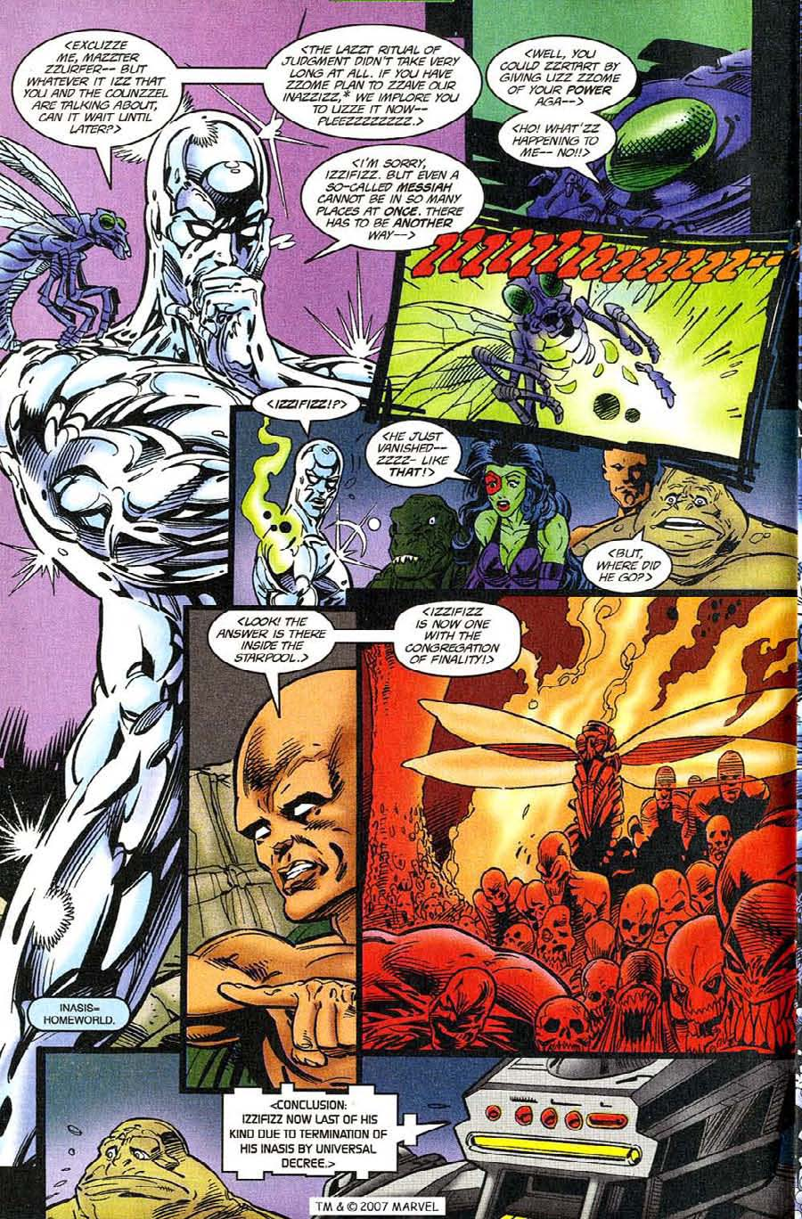 Read online Silver Surfer (1987) comic -  Issue #119 - 16