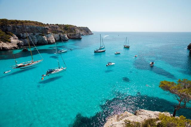Praias em Menorca