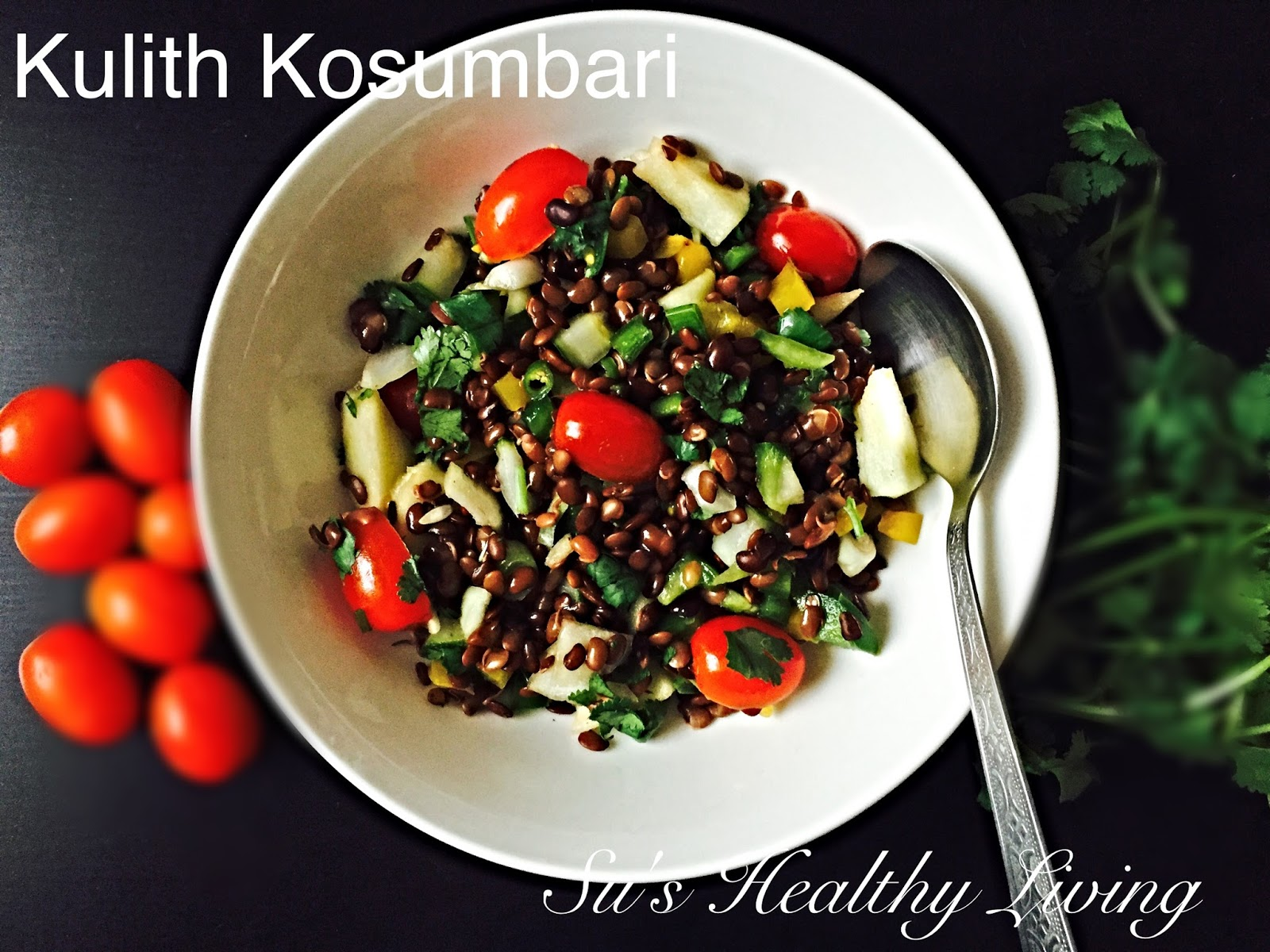 Sus healthy living kulith kosumbari horse gram salad diabetes it is that time of the month again when we bring to you very healthy diabetic friendly and weight watcher friendly recipes forumfinder Choice Image