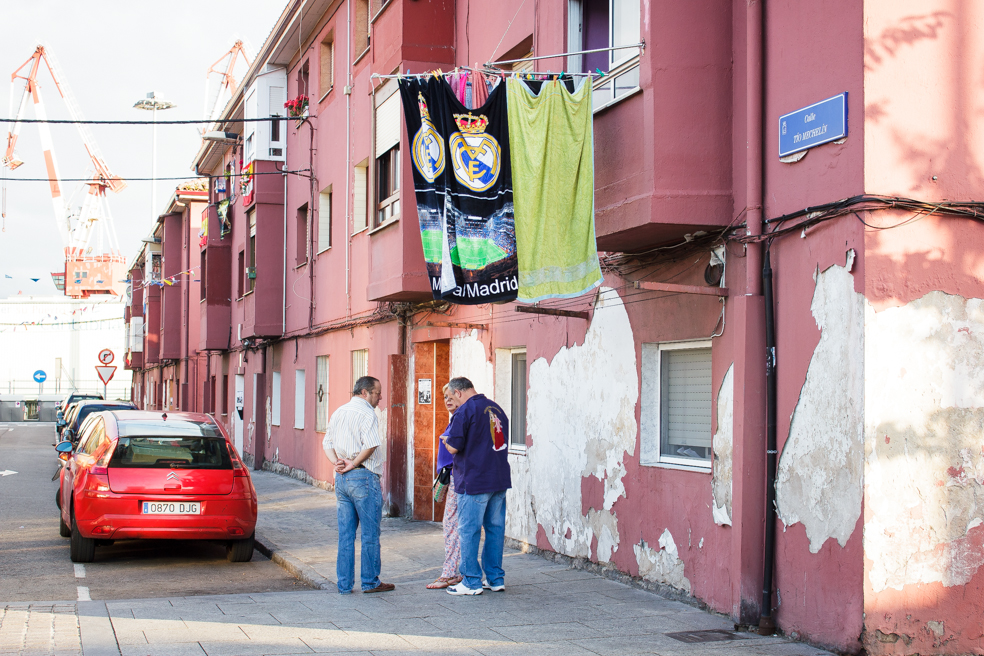 Barrio Pesquero, Santander 2014