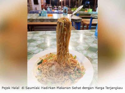 Pojok Halal di Saumlaki Hadirkan Makanan Sehat dengan Harga Terjangkau