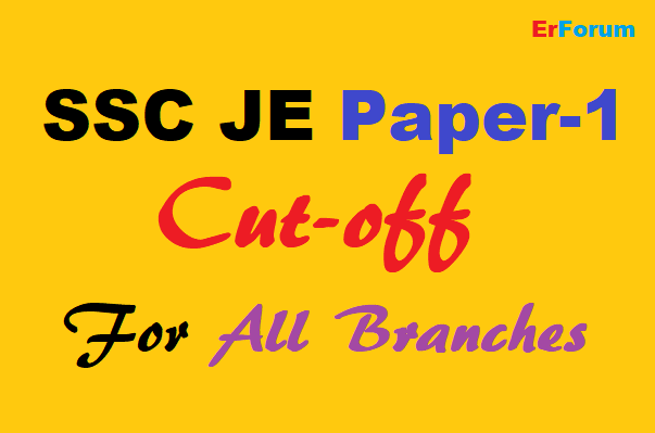 ssc-je-paper-1-cut-off