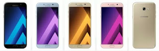 مواصفات واسعار هواتف سامسونج الجديده من سلسلة Galaxy A 2017 !!