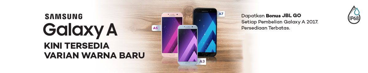 Samsung A series 2017 Gratis JBL GO