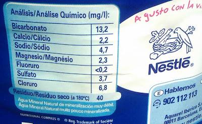 Resultado de imagen para etiquetas agua mineral