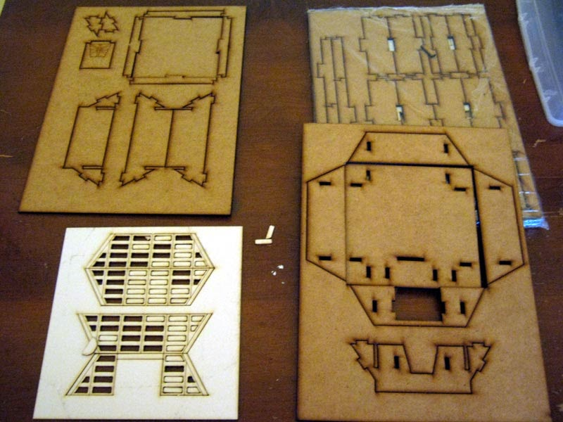 Painting Agency: Multiverse MDF terrain: out of the box
