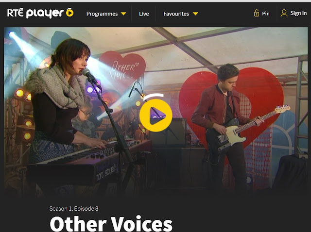 Saramai Other Voices RTÉ