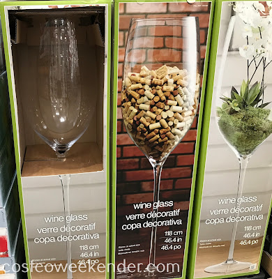 46-inch Wine Glass: great as a decorative piece or a vase in your home