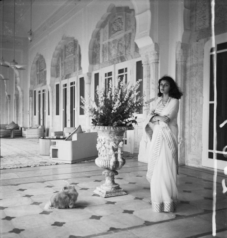 Maharani of Jaipur Gayatri Devi - 1940's