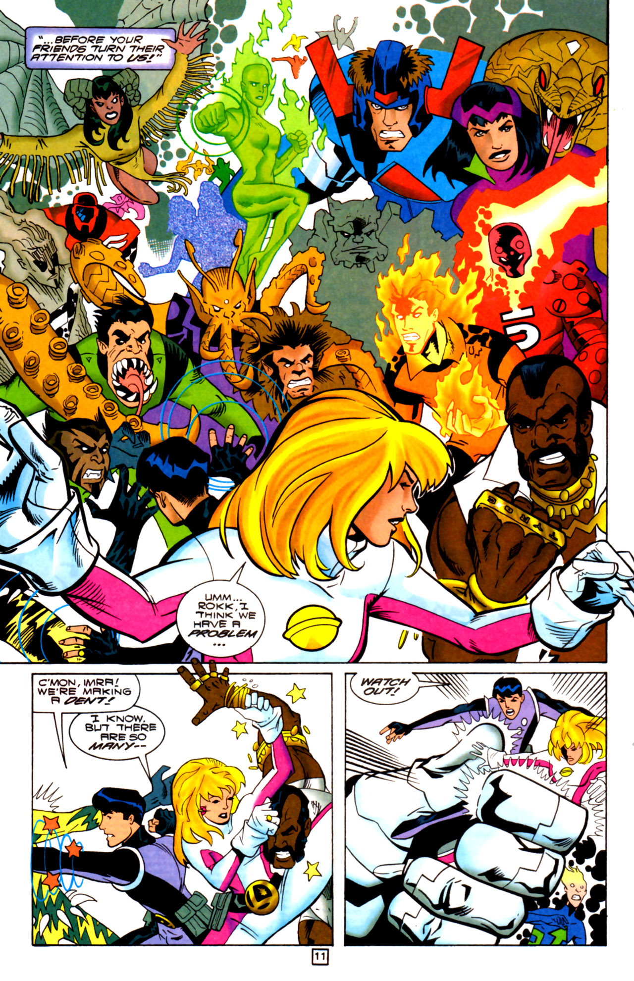Legion of Super-Heroes (1989) 105 Page 10