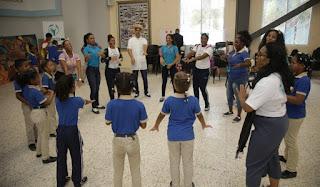 Despacho Primera Dama, MINERD Y Fundación Scholas Occurrentes promueven cultura del encuentro entre estudiantes a través del arte y el juego