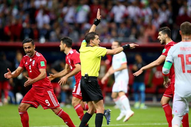 Spain beats Iran 1-0