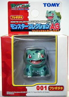 Bulbasaur new pose Pokemon Figure Tomy Monster Collection AG series