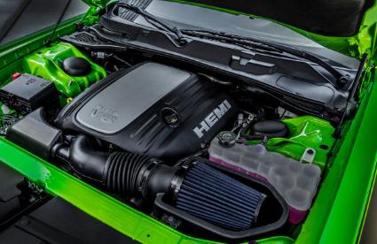 2017 Dodge Challenger T/A Engine