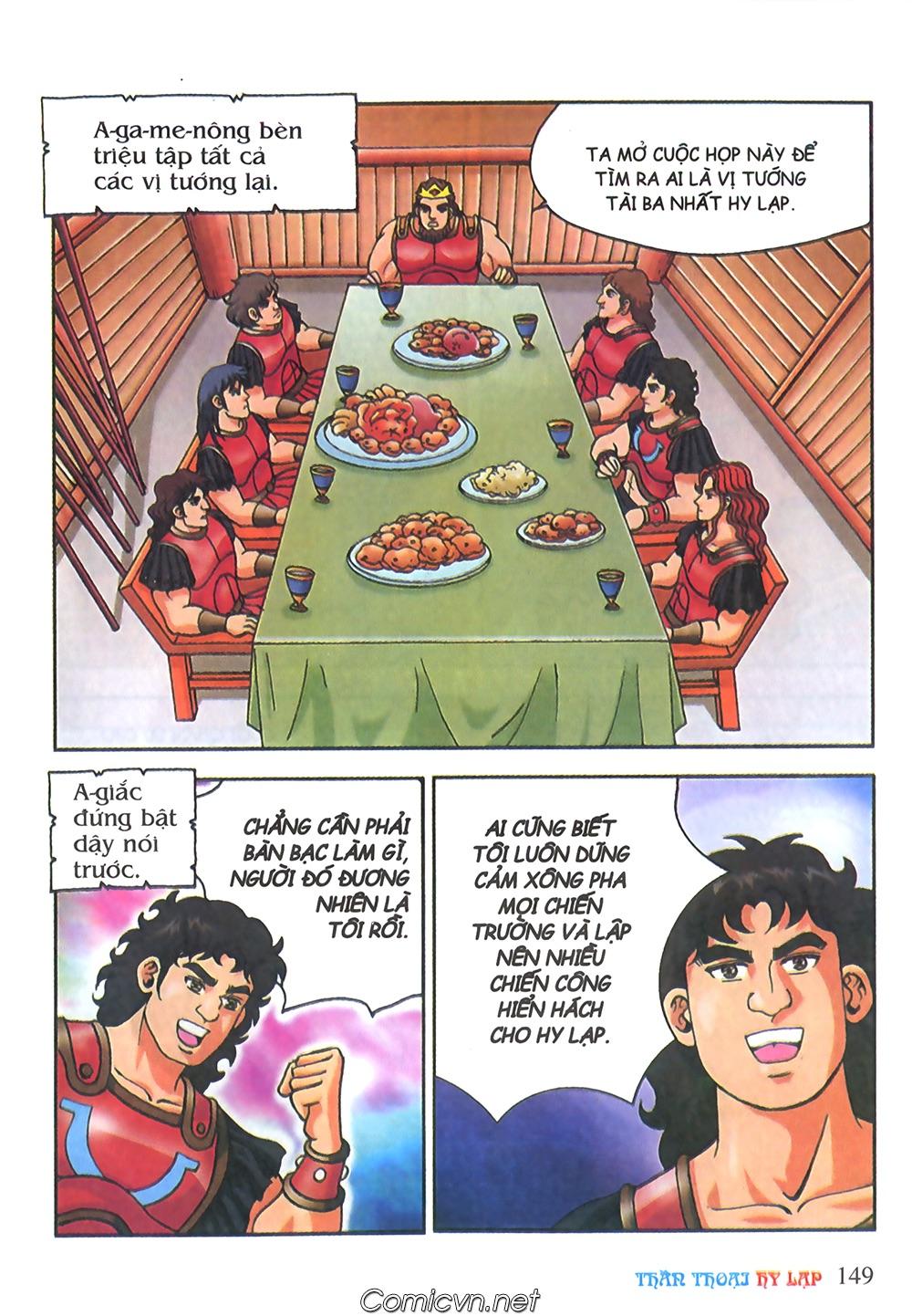 Thần Thoại Hy Lạp Màu - Chapter 65: Gót chân A sin 2 - Pic 32