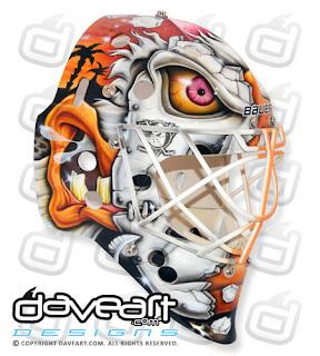 I Love Goalies!: Viktor Fasth 2012-13 Mask