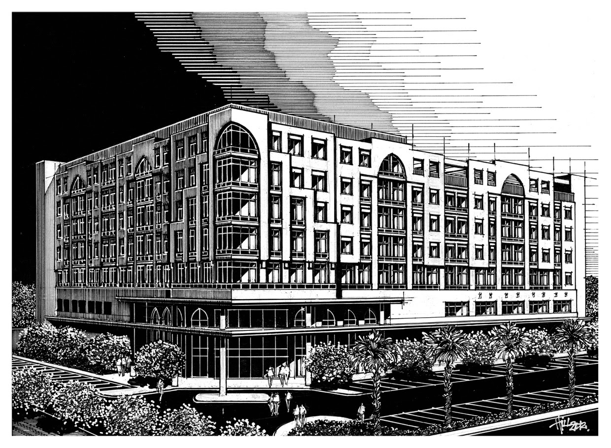 06-Paul-Hill-Pen-and-Ink-Architectural-Drawings-and-Sketches-www-designstack-co