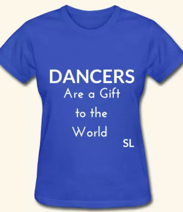 cdac415a0 Dance Moms can wear these too! This Dancers are a gift to the world shirt  is an absolute must-have for dancers, dance lovers, and dance staff!