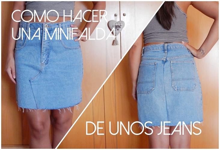 965f22439 Shibar-ita: Cómo hacer una minifalda de unos jeans