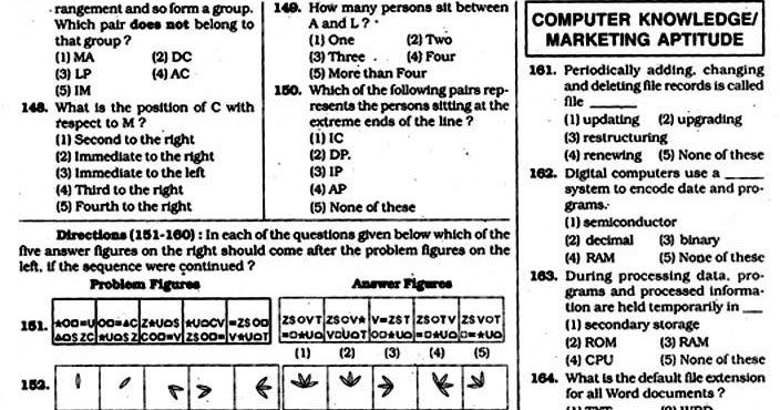 Nagpur Info: Bank Clerk Exam Model Paper with answer page-10