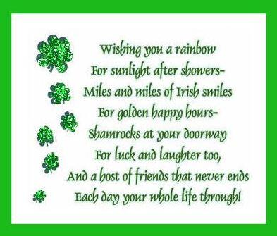 Happy St. Patrick\'s Day 2017 Irish Blessings, Sayings, Prayers ...