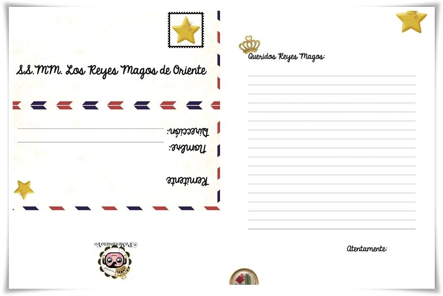 carta reyes magos wasemen @pamonisimayo