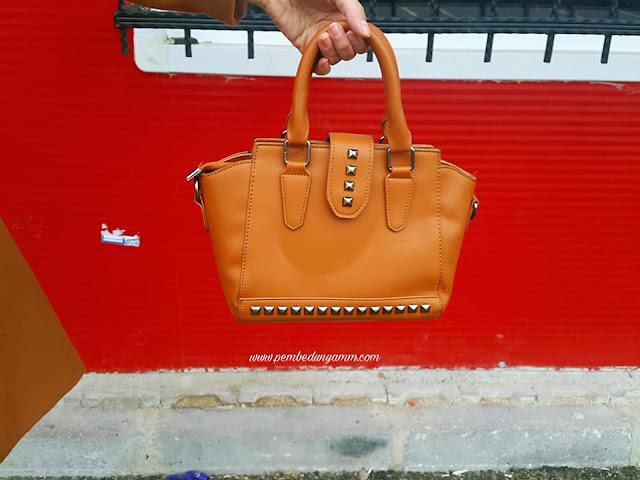 zımbalı çanta