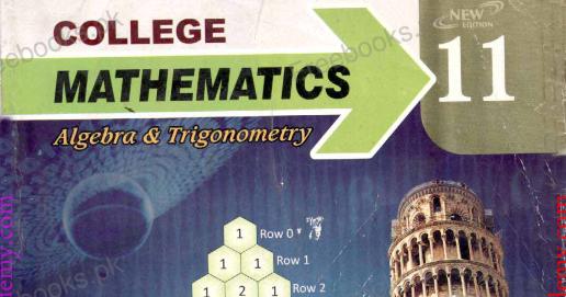 COLLEGE MATHEMATICS -CLASS 11- Punjab Text Books - Riaz Academy