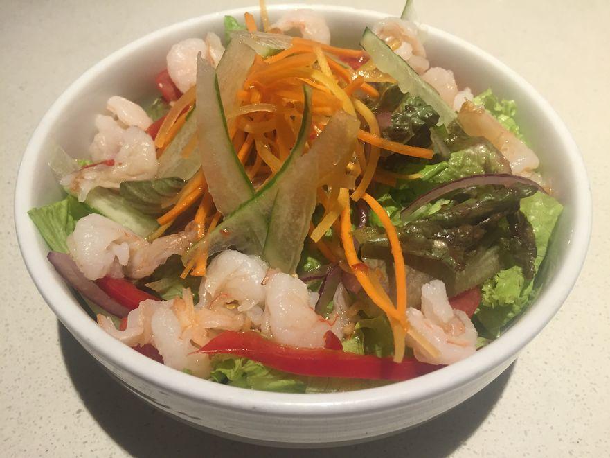 Thai Shrimp salad at The Flying Pan