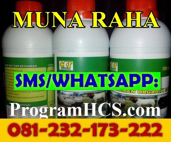 Jual SOC HCS Muna Raha