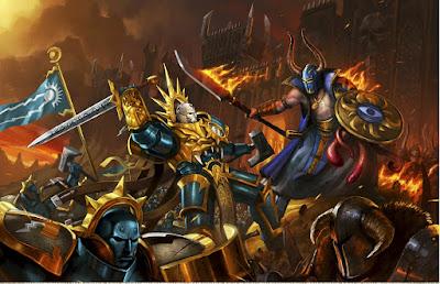 Age of Sigmar Stormcast Eternals vs Tzeentch