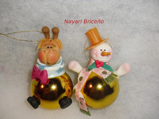 Cyri porcelana fria bambalinas decoracion para for Adornos navidenos en porcelana fria utilisima