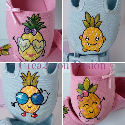 Zapatillas-infantiles-pintadas-a-mano-con-piñas-crea2-con-pasión