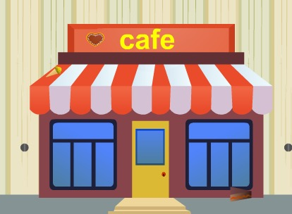 AjazGames Street Cafe Escape Walkthrough