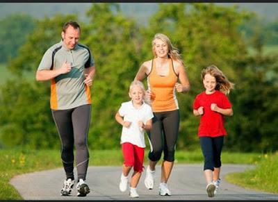 Sering-seringlah Olahraga bersama Keluarga