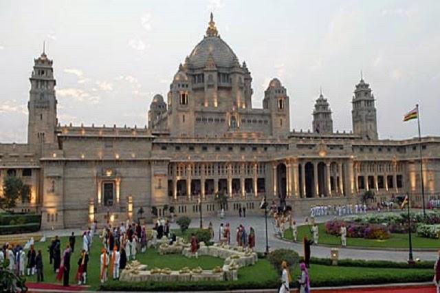 Umaid Bhavan Palace in Jodhpur, Rajasthan