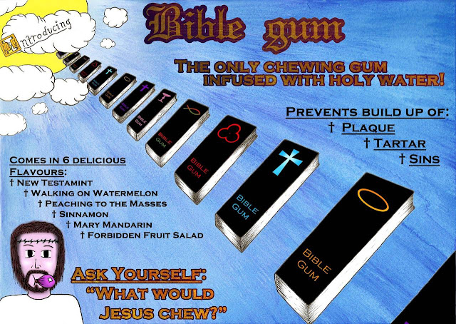 Bible gum picture