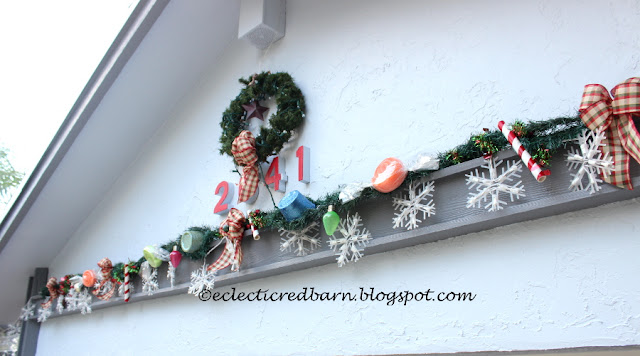 Eclectic Red Barn:  Candy Garland