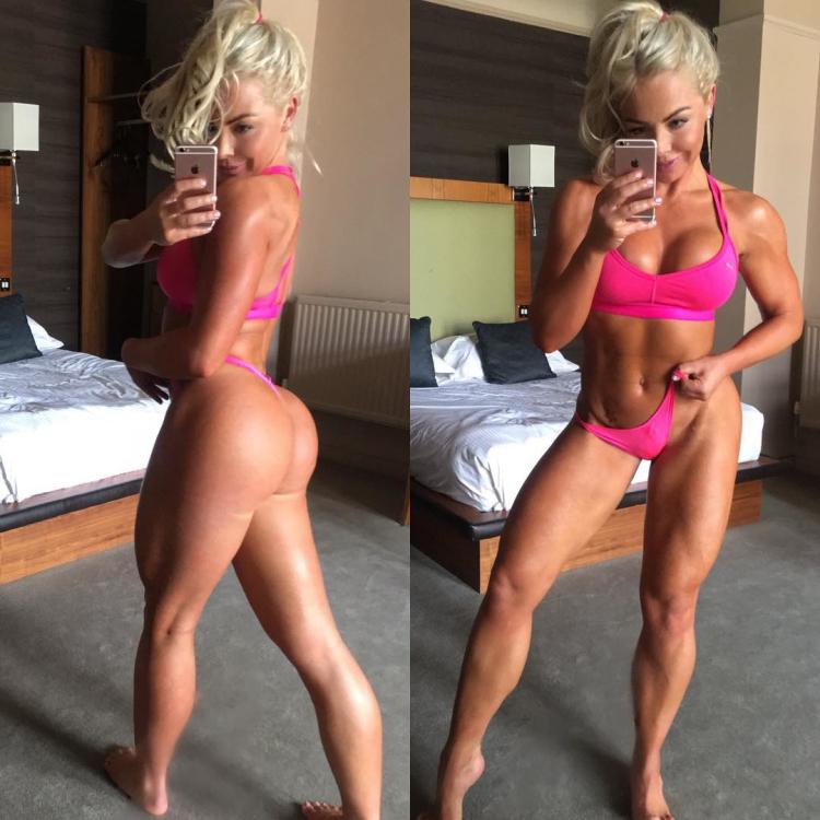 fitness model Fiona Mcnab
