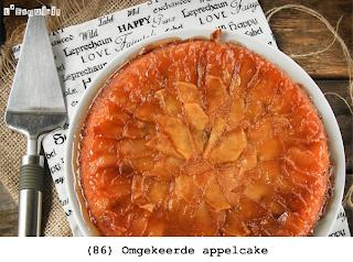 Gekarameliseerde appels met een zachte deeg, lauwwarm te serveren (kan ook in de diepvries)