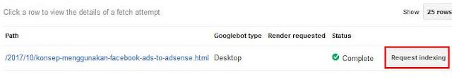 Supaya Artikel Blog Cepat Terindeks Google