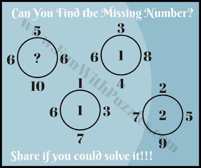 Tricky maths brain picture puzzle challenge