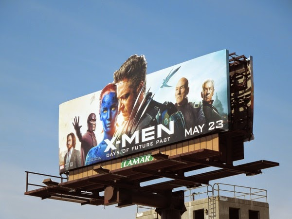 X-Men Days of Future Past special extension movie billboard