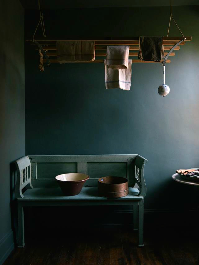 Clerkenwell Design Week, deVol kitchen showroom, farrow & ball style, interiors blogger, moody interiors