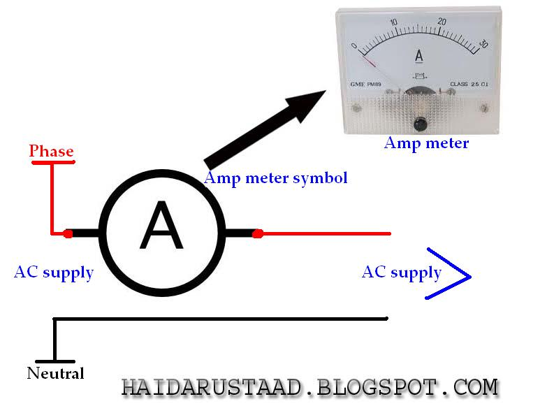 How To Wire Amp Meter   U00ab Electrical And Electronic Free